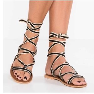 Topshop Hacienda Gladiator Sandals